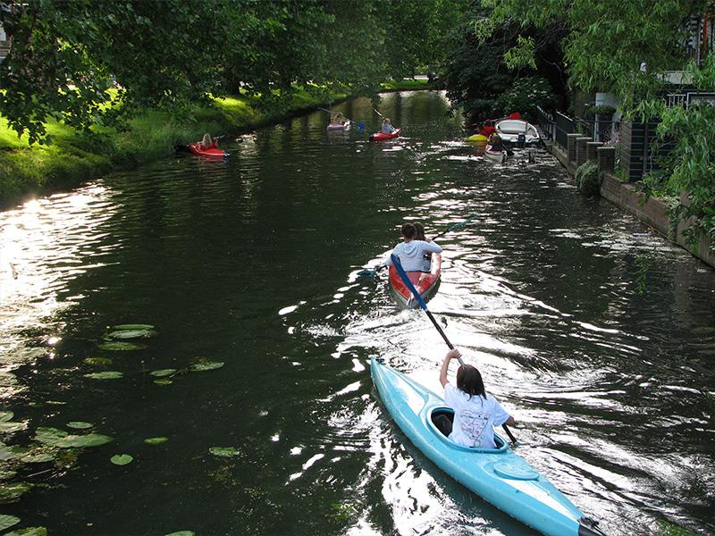 Kanoën in IJsselstein